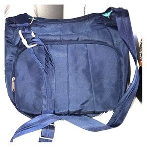 Travelon crossbody bag and matching wallet
